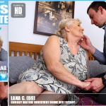 Mature.nl – Lana C. (69) – Mat-Alex225 – Chubby Mature Housewife doing her toyboy