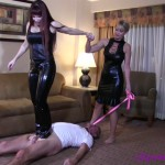 ClubStiletto – Mistress Kandy, Mistress Jessica – Used Carpet Bitch