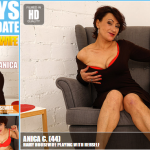 Mature.nl – Anica C. (44) – Mat-EU-Alex154 – Hairy Housewife Playing with Herself