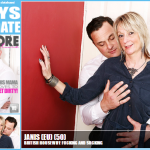 Mature.nl – Janis (EU) (50) – Mat-TUK006 – British Housewife Fucking and Sucking