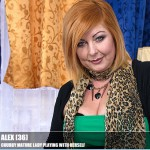 Mature.nl – Alex (36) – Mat-Prof041 – Chubby Mature Lade Playing with Herself